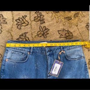 Ted Baker Jeans - TED BAKER  Star Abrasion Boyfriend Jeans - SIZE 32